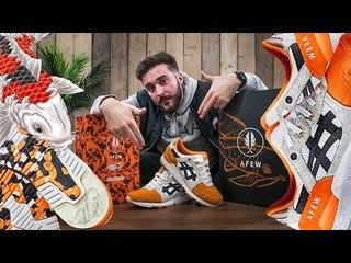 AFEW x BEAMS x ASICS Gel-Lyte III 'Orange Koi'   History, Unboxing & On Foots
