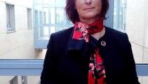 """Isabelle Di Florio, déléguée consulaire de la CCI des Vosges, invitée au salon """"Go!"""" création-reprise d'entreprise qui s'est tenue ce jeudi à la pépinière d'entreprises à Saint-Dié-des-Vosges"""