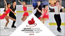 Rink C:  2019 Skate Canada Challenge / Défi Patinage Canada 2019