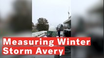 Millersville University Students Launch Weather Balloon To Measure Winter Storm Avery