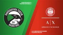 Darussafaka Tekfen Istanbul - AX Armani Exchange Olimpia Milan Highlights | Turkish Airlines EuroLeague RS Round 7