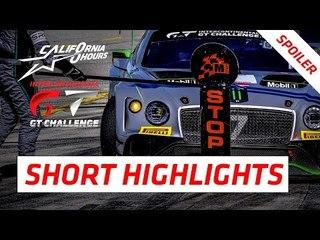 #1 SHORT HIGHLIGHTS (Spoiler) - California 8 Hours - 2018 Intercontinental GT Challenge Final