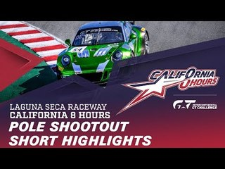 SHORT HIGHLIGHTS - POLE SHOOTOUT - CALIFORNIA 8 HOURS - IGTC 2018