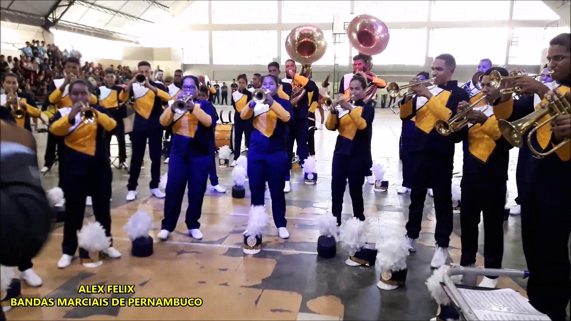 BMER | BANDA MARCIAL JUVENIL ROTARY DO ALTO DO PASCOAL 2018 | COBANPE 40 ANOS | CONCURSO DE BANDAS D