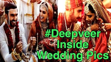 Deepika Padukone, Ranveer Singh All Wedding Photos   bollywood News & gossips