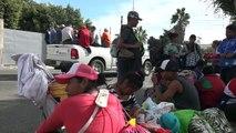 Mexique: les migrants arrivent à la frontière américaine