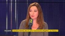 Sandrine Quétier dans Info Médias