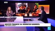 Entretien avec Markus Gabriel : 'Le Pouvoir de l'art'