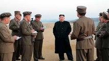 """Kim-Jong Un vor Ort: Nordkorea testet offenbar """"ultramoderne taktische Waffe"""""""