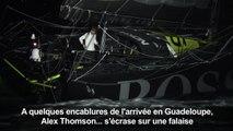 Route du Rhum: Alex Thomson s'écrase sur une falaise et repart