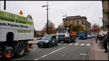 Belfort : les artisans anticipent la journée de samedi avec une opération escargot au centre-ville