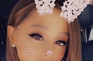 Ariana Grande se corta (literalmente) la coleta