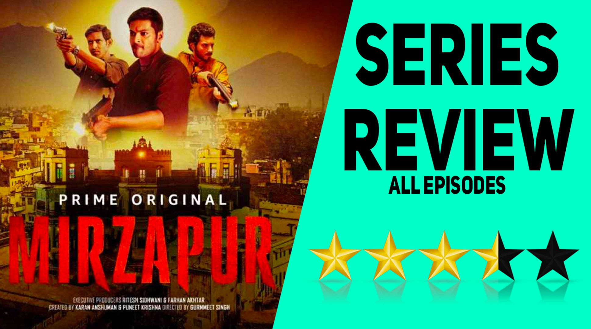 Mirzapur Series Review | Pankaj Tripathi, Ali Fazal, Vikrant Massey |  Amazon Prime Video