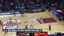 Virginia Tech's Ahmed Hill Hits Deep Buzzer-Beating 3 vs. Northeastern