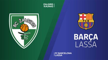 EuroLeague 2018-19 Highlights Regular Season Round 7 video: Zalgiris 85-88 Barcelona