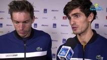 """ATP - Nitto ATP Finals 2018 - Nicolas Mahut et Pierre-Hugues Herbert en demies : """"C'était notre meilleur match de l'année"""""""