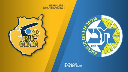 EuroLeague 2018-19 Highlights Regular Season Round 7 video: Gran Canaria 84-78 Maccabi
