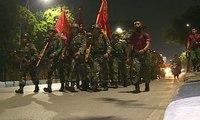 Peringati HUT Ke 73, Korps Marinir Gelar Kirab Bendera 73 Kilometer