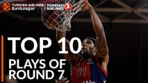 Top 10 Plays  - Turkish Airlines EuroLeague Regular Season Round 7