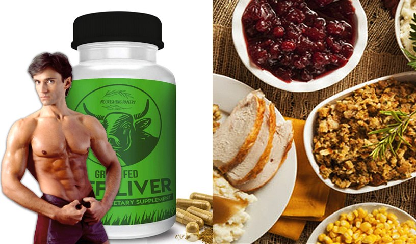GRASS FED BEEF LIVER SUPPLEMENT & THANKSGIVING DINNER MADE HEALTHY   Fit Now with Basedow #160