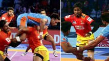 Pro Kabaddi League 2018 : Gujarat Fortunegiants Beat Bengal Warriors 35-23 | Onendia Telugu