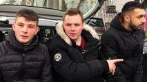 Témoignage vidéo de jeunes : à gauche Matthieu, 20 ans chaudronnier, à droite Armaud 19 ans intérimaire