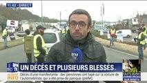 Gilets jaunes : accident mortel à Pont-de-Beauvoisin au niveau d'un barrage