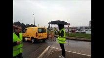 Mobilisation des gilets jaunes à Carpentras