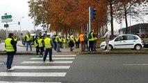 Gilets Jaunes : scènes de tensions à Bourg-en-Bresse