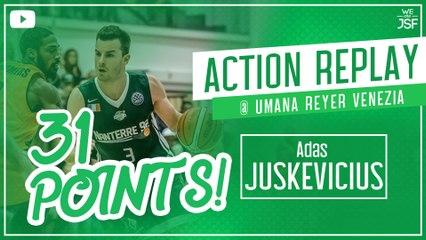 31 points pour Adas Juskevicus