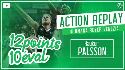 12 points - 10 d'éval pour l'Islandais Hauk Palsson