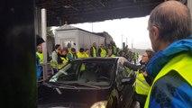 Mobilisation des gilets jaunes à Bollène