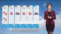 [날씨] 내일 아침 추위 계속…미세먼지 '보통'