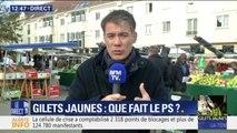 """Gilets jaunes : Pour Olivier Faure (PS) """"les Français demandent qu'on remettent à plat la politique fiscale"""""""