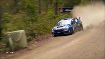 Ce pilote de rallye se prend un ballot de paille à pleine vitesse : douloureux