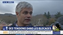"""Gilets jaunes : Laurent Wauquiez """"espère que le président va corriger ses erreurs en annulant les hausses de taxes"""""""