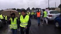 Bessan - Blocage du péage de l'autoroute A9 par les gilets jaunes - 17 nov 2018