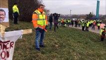 FRANCHE COMTE GILETS JAUNES Manifestation à Dole-Jura