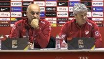 Türkiye-İsveç maçının ardından  A Milli Takım Teknik Direktörü Lucescu
