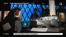 TH : Titouan Lamazou expose son bateau atelier