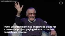 POW! Entertainment Announces Stan Lee Memorial Project