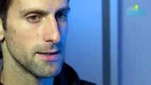 "ATP - Nitto ATP Finals 2018 - Novak Djokovic : ""Alexander Zverev est monté en puissance !"""