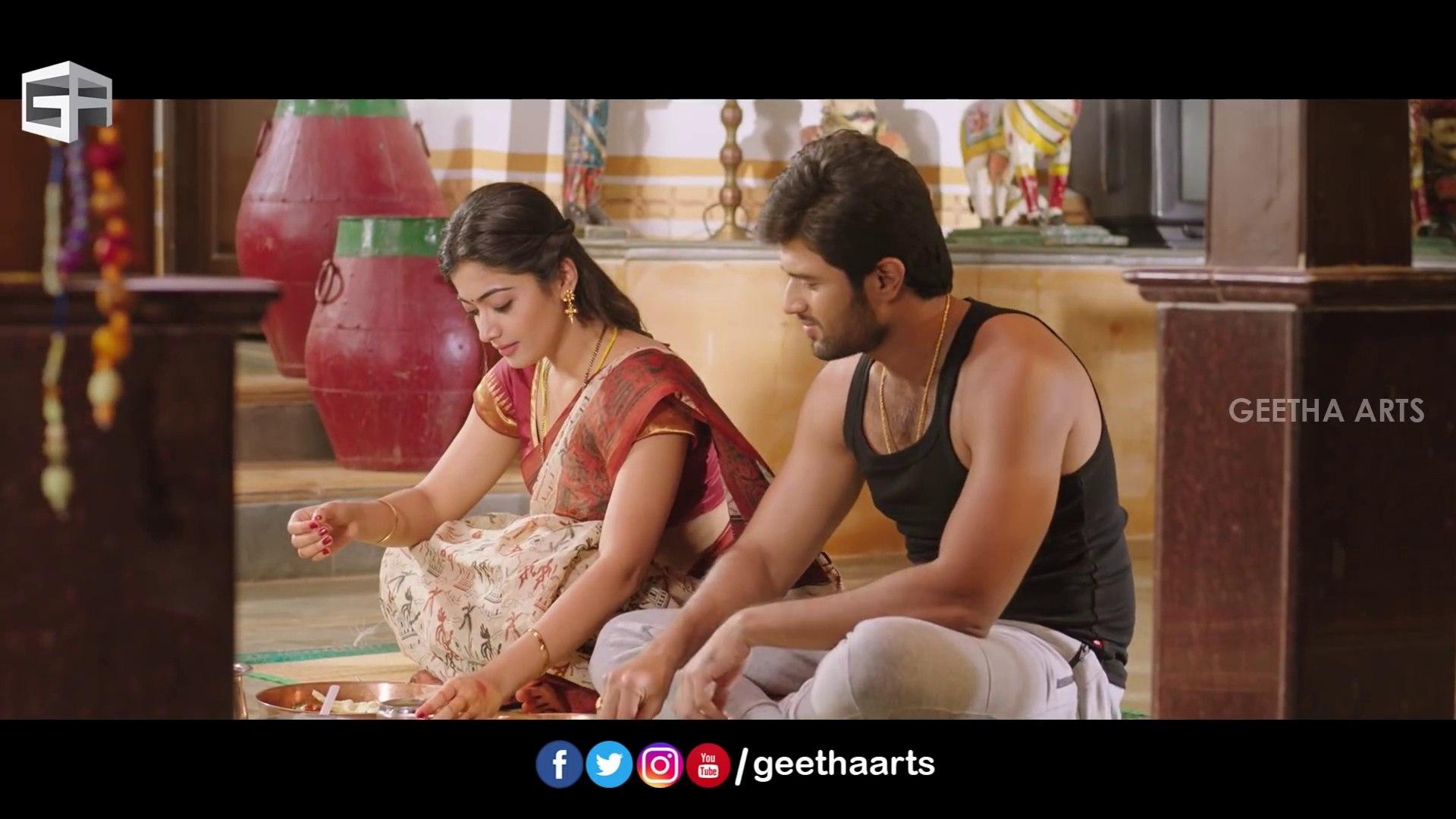 Vachindamma Full Video Song Vijay Deverakonda Rashmika Geetha Govindam