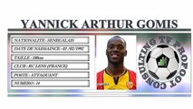 YANNICK ARTHUR GOMIS●II Best Skills & Golas II●RC LENS(FRANCE)