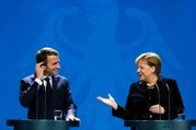 Déclaration conjointe du Président de la République, Emmanuel Macron, et d' Angela Merkel, Chancelière de la République Fédéral d'Allemagne