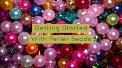 Getting Started With Perler Beads!!!