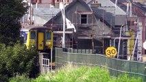 Northern Ireland Railways DEMU 8456 - Leaveing Whitehead