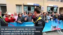 Une F1 dans les rues de Châteaurenard