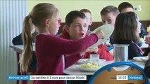 Seine-Maritime : la cantine à 1 euro pour sauver l'école du village