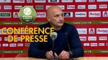 Conférence de presse AC Ajaccio - US Orléans (1-0) : Olivier PANTALONI (ACA) - Didier OLLE-NICOLLE (USO) - 2018/2019